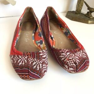 Toms One for One Woven Flats